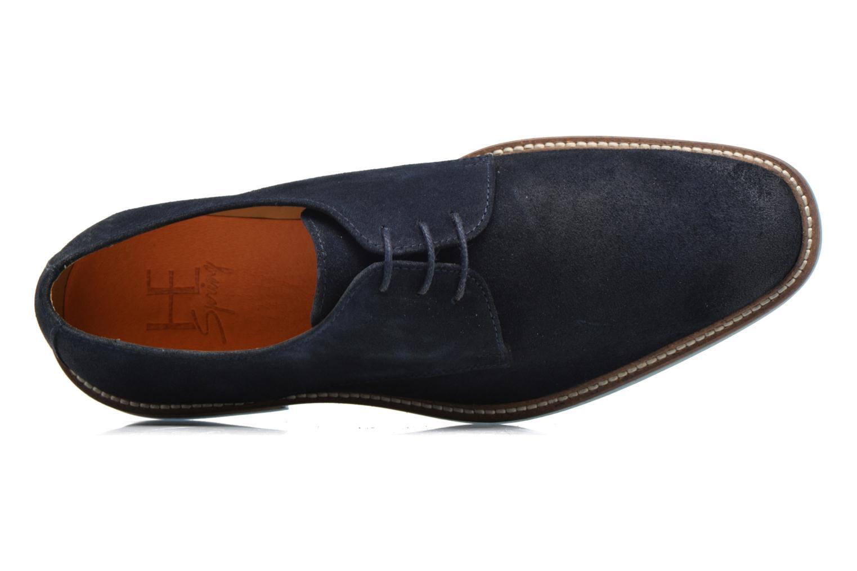 Chaussures à lacets HE Spring Pekin Bleu vue gauche