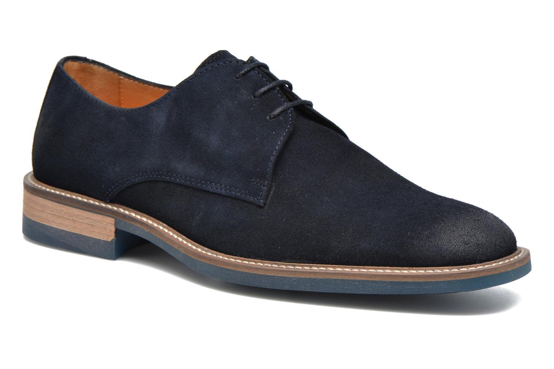 Chaussures à lacets HE Spring Pekin Bleu vue détail/paire