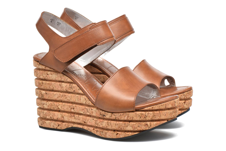 Eny 7 Sandal Velcro Casablanca Marron