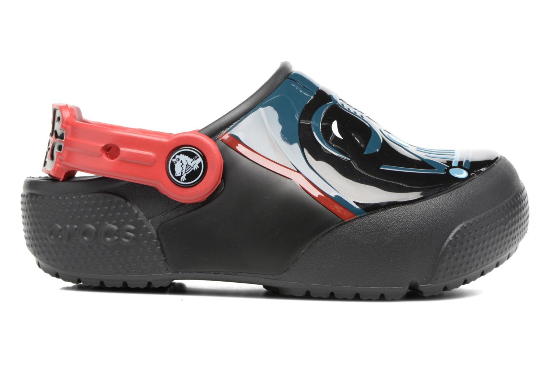 Sandales et nu-pieds Crocs Crocs Funlab Lights Darth Vader Noir vue derrière