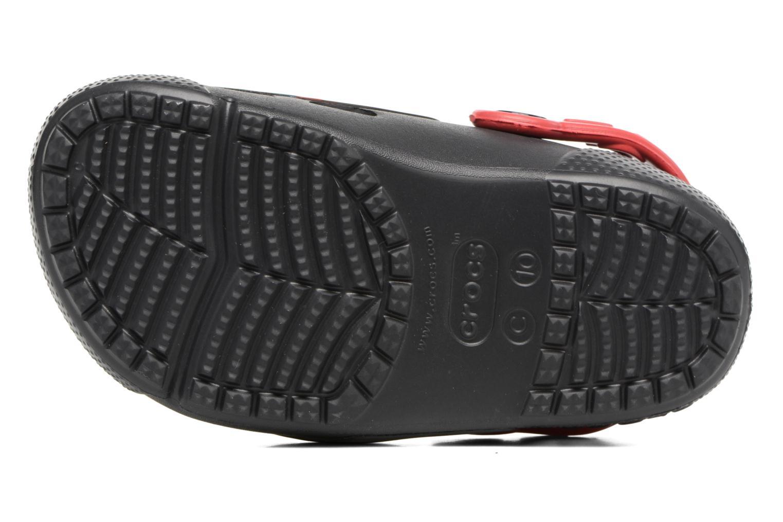 Sandales et nu-pieds Crocs Crocs Funlab Lights Darth Vader Noir vue haut