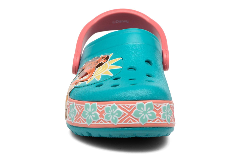 Sandales et nu-pieds Crocs Crocs Funlab Vaiana Clog LIGHTS Bleu vue portées chaussures
