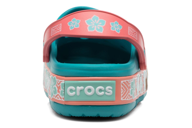 Sandales et nu-pieds Crocs Crocs Funlab Vaiana Clog LIGHTS Bleu vue droite