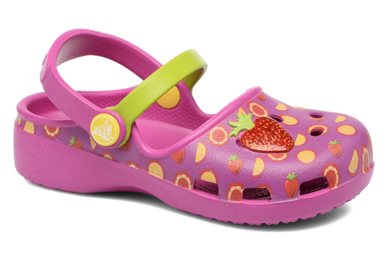 Crocs Karin Novelty Clog K Vibrant Violet/Tangerine