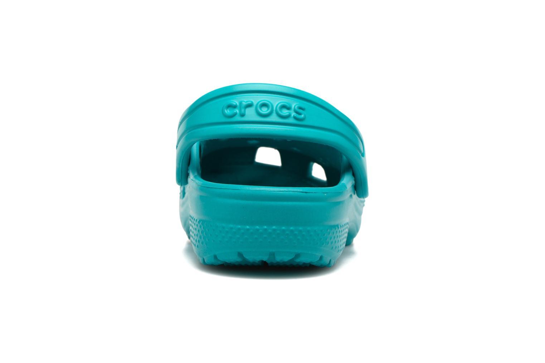 Sandales et nu-pieds Crocs Classic Clog Graphic Kids Bleu vue droite