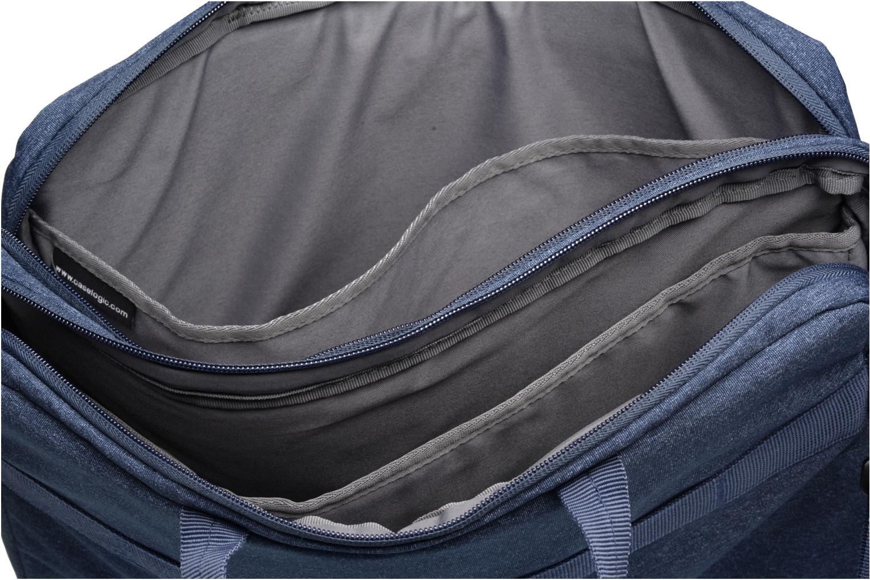 Laptop cases Case Logic Sacoche ordinateur 15'' Blue back view