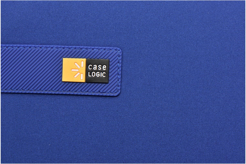 Sacs ordinateur Case Logic Pochette ordinateur 13'' Bleu vue gauche