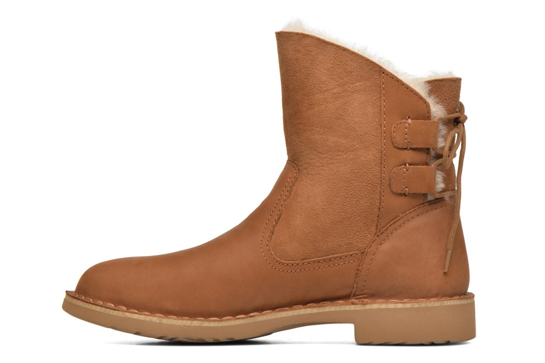Bottines et boots UGG W Naiyah Marron vue face