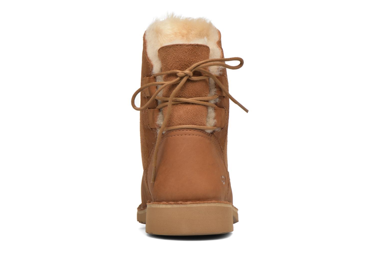 Bottines et boots UGG W Naiyah Marron vue droite