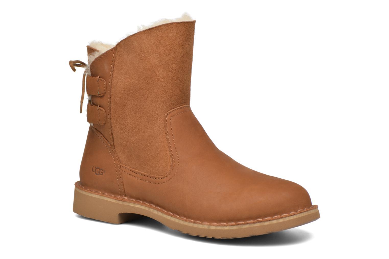 Bottines et boots UGG W Naiyah Marron vue détail/paire