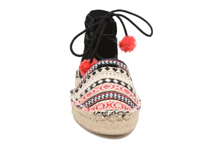 Espadrilles Colors of California Bodega Multicolore vue portées chaussures