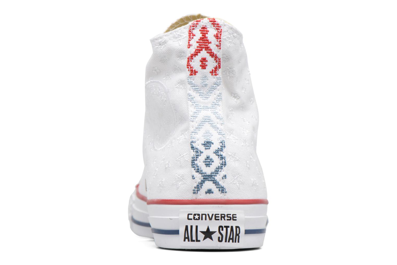 Chuck Taylor All Star Hi Americana Embroidery White/Casino Red/Insignia Blue