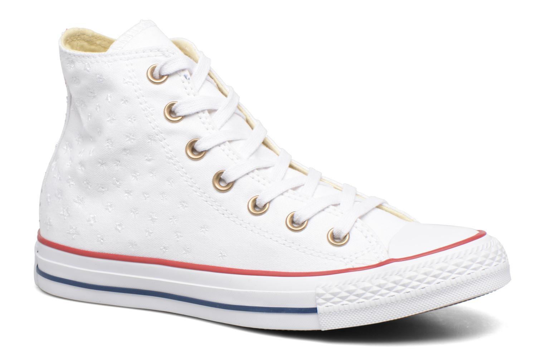 Chuck Taylor All Star Hi Americana Embroidery White/Casino Red/Insignia Blue