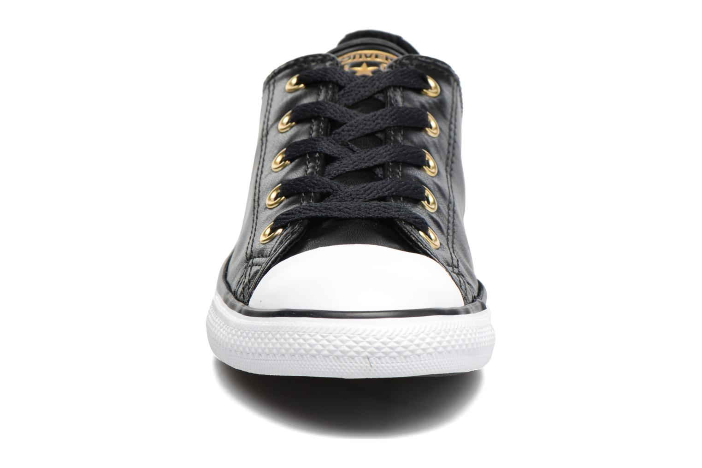Baskets Converse Chuck Taylor All Star Dainty Ox Craft SL Noir vue portées chaussures