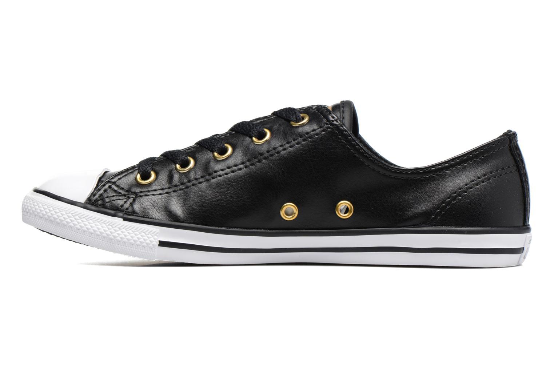 Sneaker Converse Chuck Taylor All Star Dainty Ox Craft SL schwarz ansicht von vorne