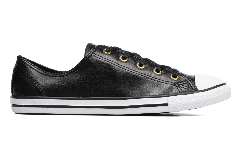 Sneaker Converse Chuck Taylor All Star Dainty Ox Craft SL schwarz ansicht von hinten