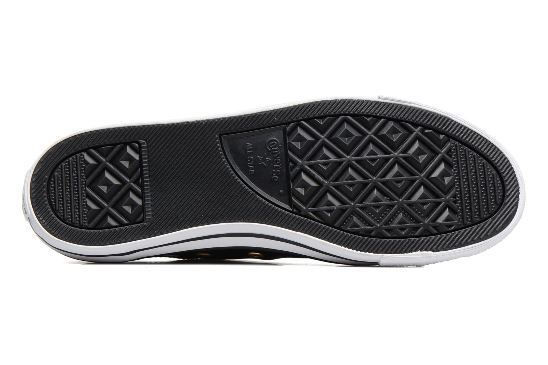 Sneaker Converse Chuck Taylor All Star Dainty Ox Craft SL schwarz ansicht von oben