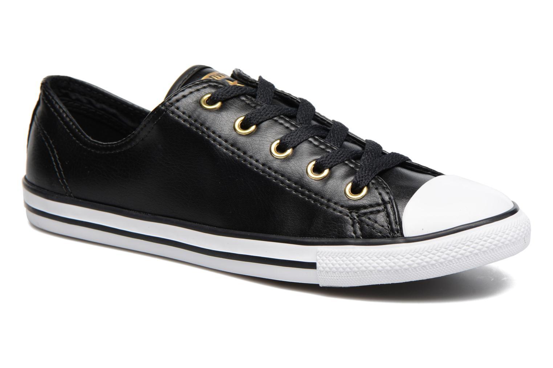 Sneaker Converse Chuck Taylor All Star Dainty Ox Craft SL schwarz detaillierte ansicht/modell