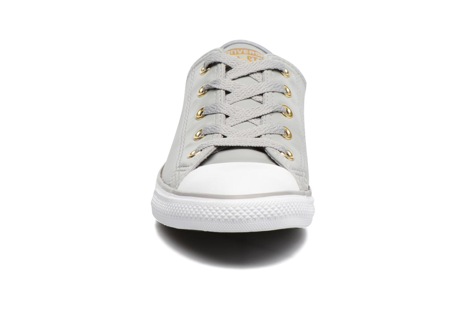 Baskets Converse Chuck Taylor All Star Dainty Ox Craft SL Gris vue portées chaussures