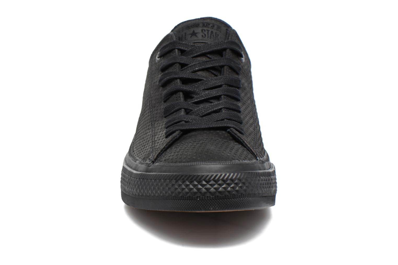 Chuck Taylor All Star II Ox Lux Leather Black/black/gum