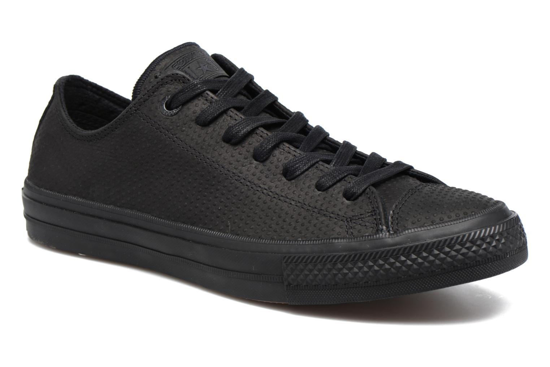Chuck Taylor All Star II Ox Lux Leather Black/black/gum