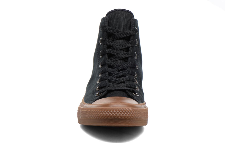 Baskets Converse Chuck Taylor All Star II Hi Tencel Canvas Noir vue portées chaussures