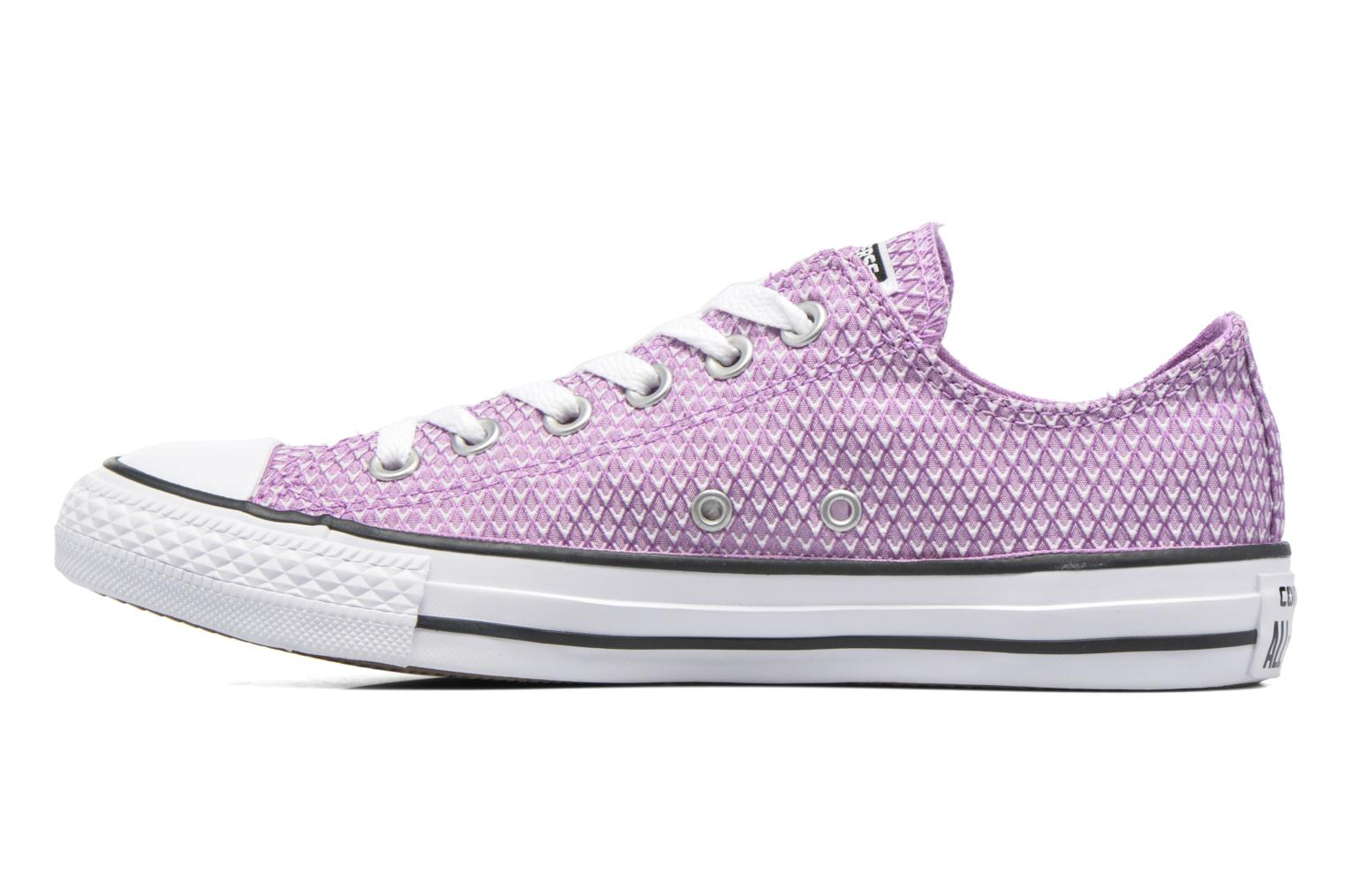 Baskets Converse Chuck Taylor All Star Ox Snake Woven Violet vue face