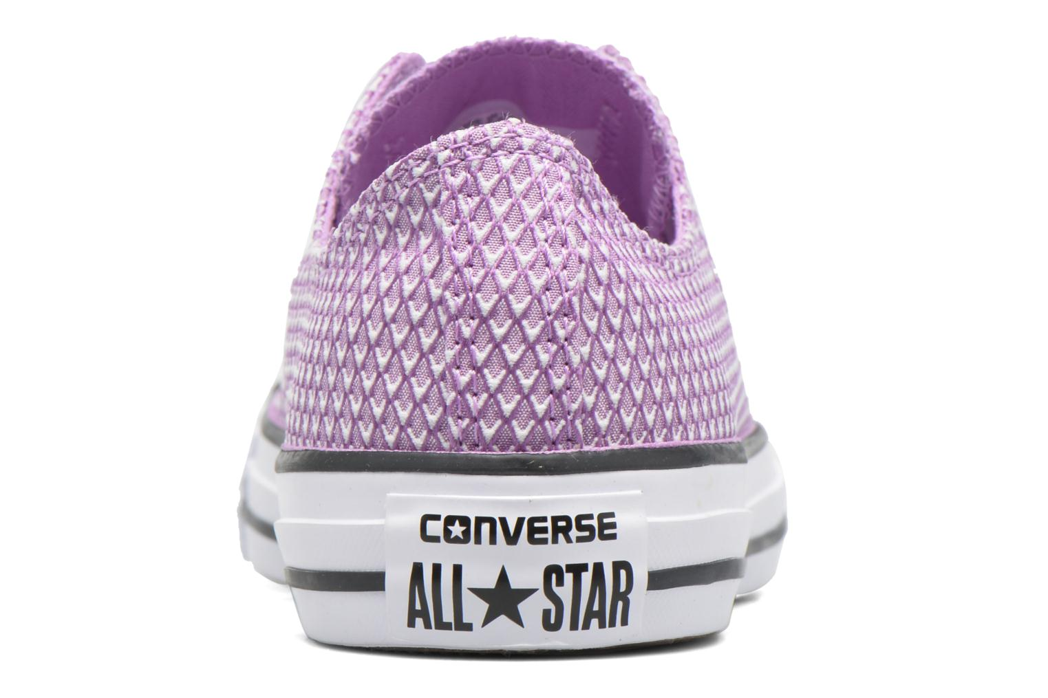 Baskets Converse Chuck Taylor All Star Ox Snake Woven Violet vue droite