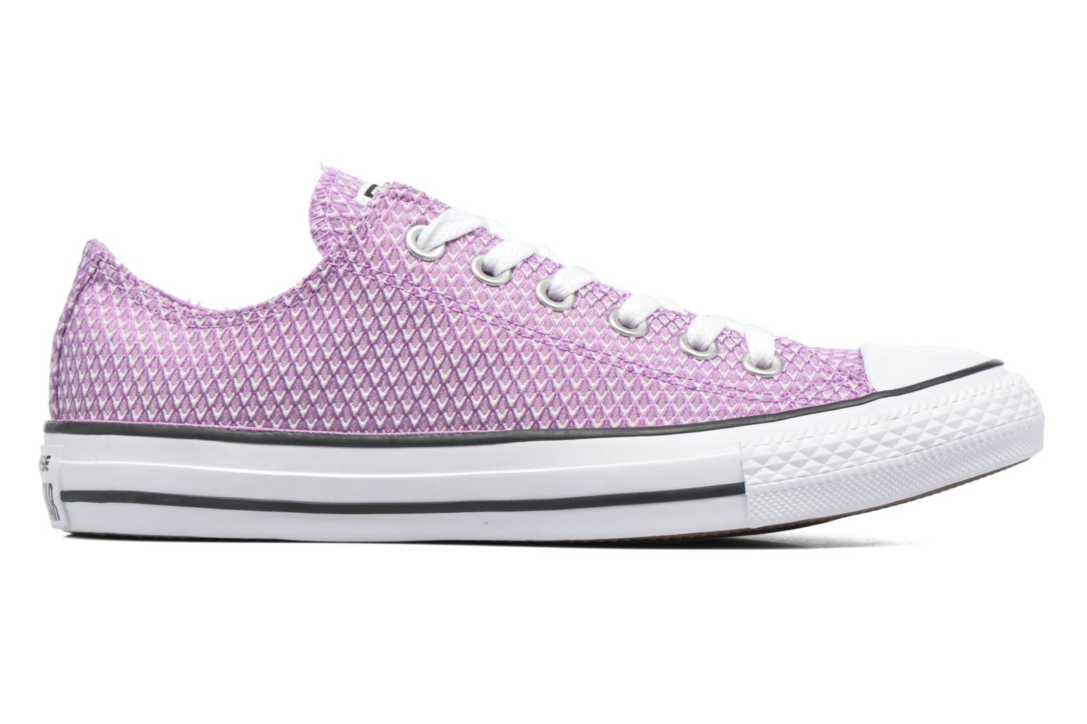 Sneakers Converse Chuck Taylor All Star Ox Snake Woven Viola immagine posteriore