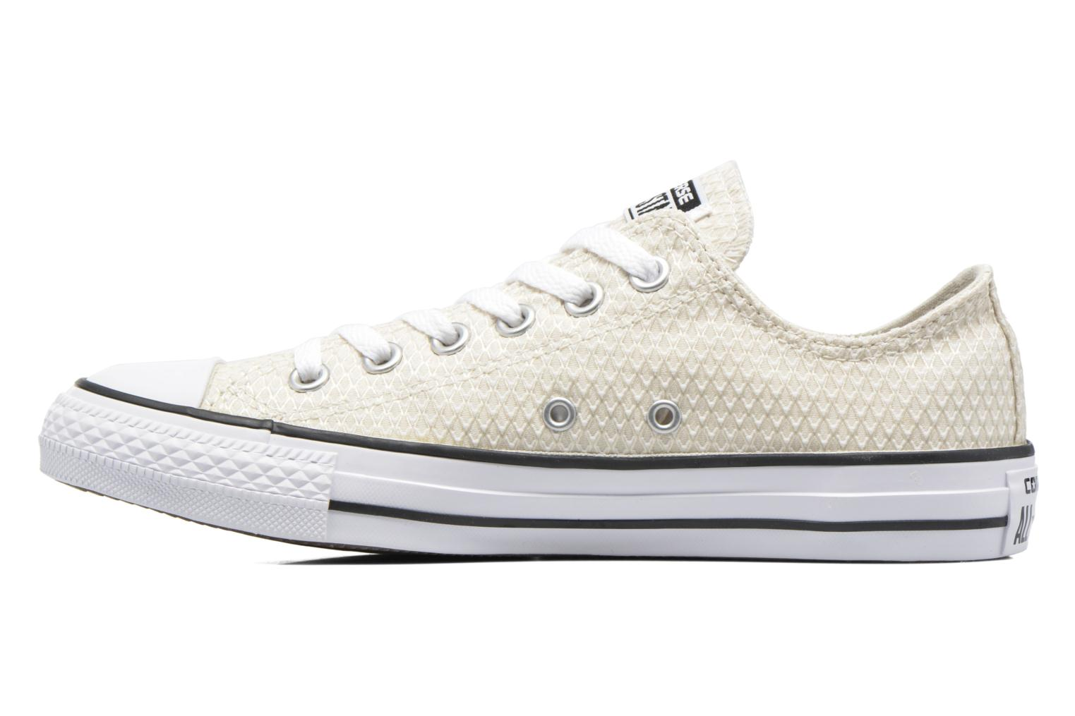 Sneakers Converse Chuck Taylor All Star Ox Snake Woven Beige immagine frontale