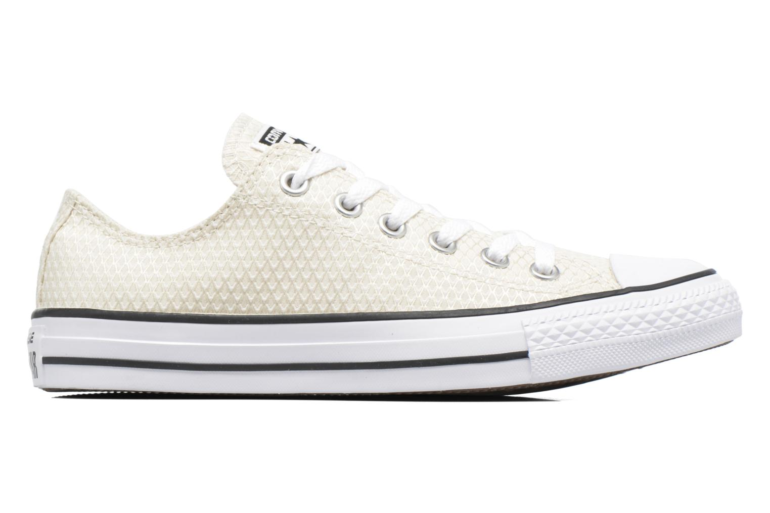 Sneakers Converse Chuck Taylor All Star Ox Snake Woven Beige immagine posteriore