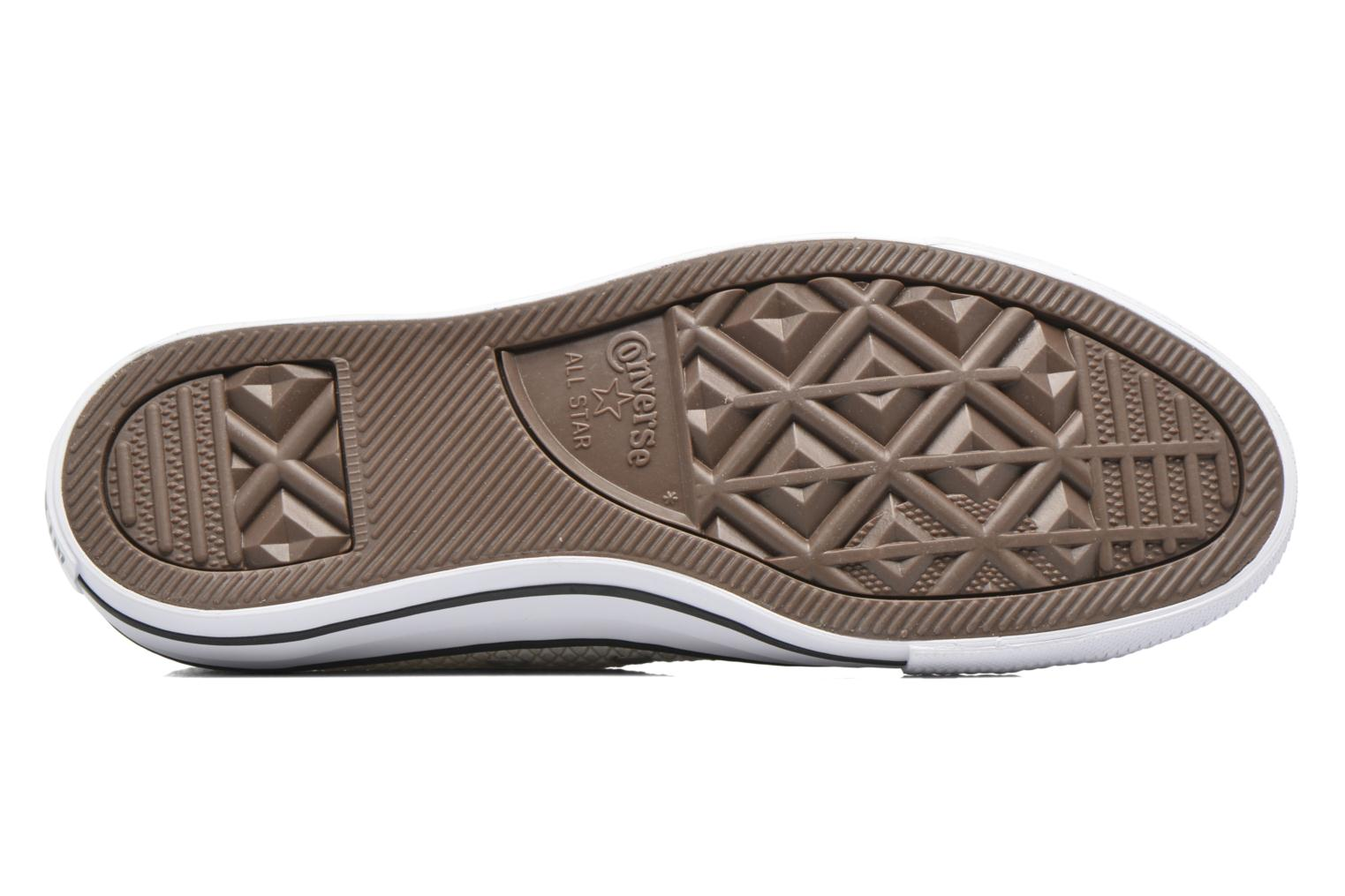 Sneakers Converse Chuck Taylor All Star Ox Snake Woven Beige immagine dall'alto