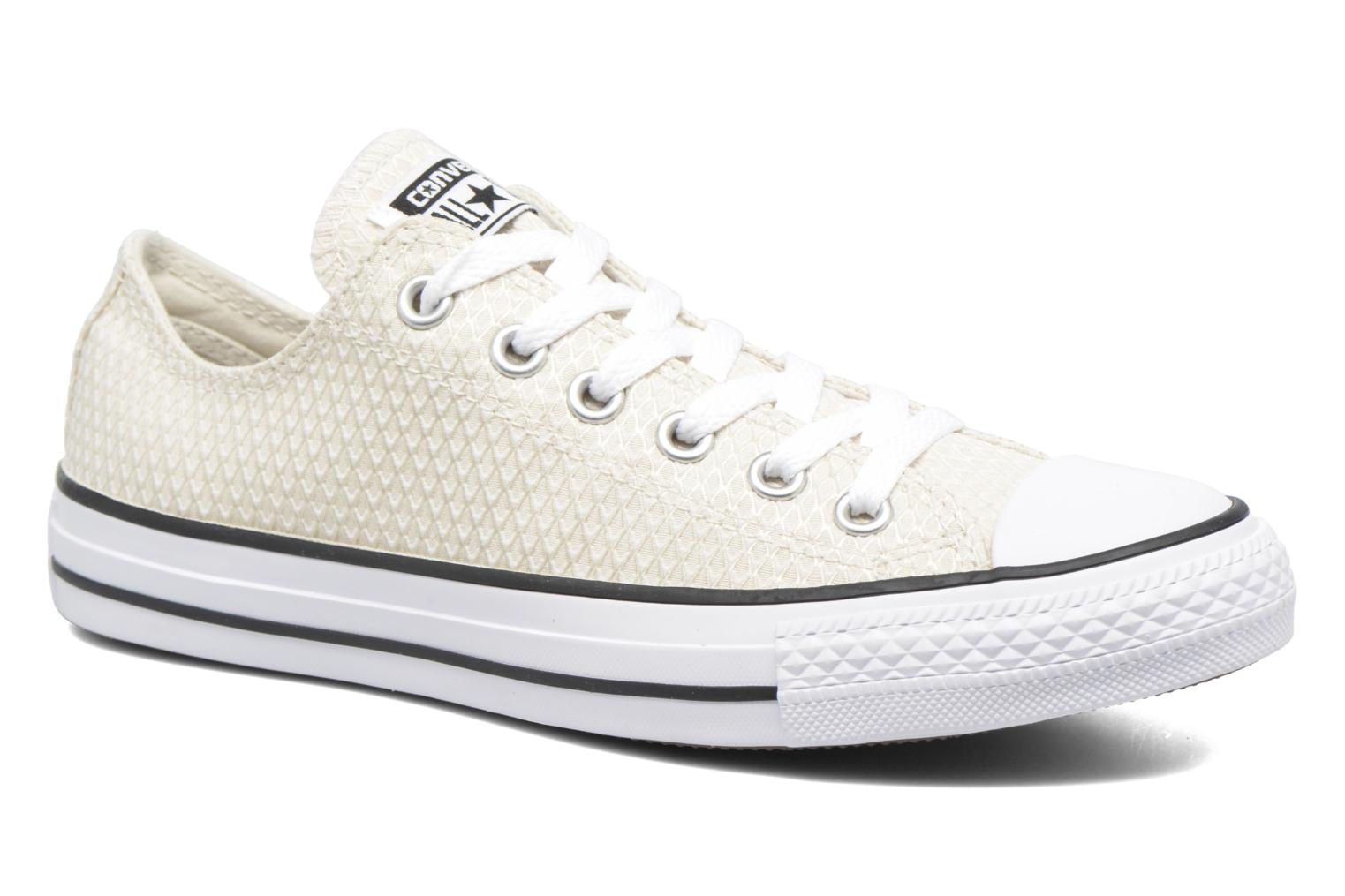 Chuck Taylor All Star Ox Snake Woven BuffBlackWhite
