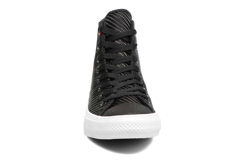 Baskets Converse Chuck Taylor All Star II Hi Sports Blocking Noir vue portées chaussures