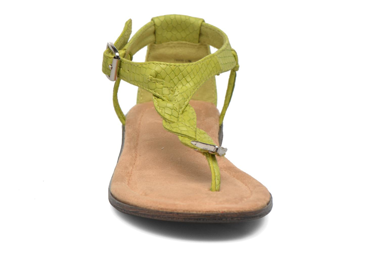 Sandales et nu-pieds Minnetonka Carnival Thong Vert vue portées chaussures