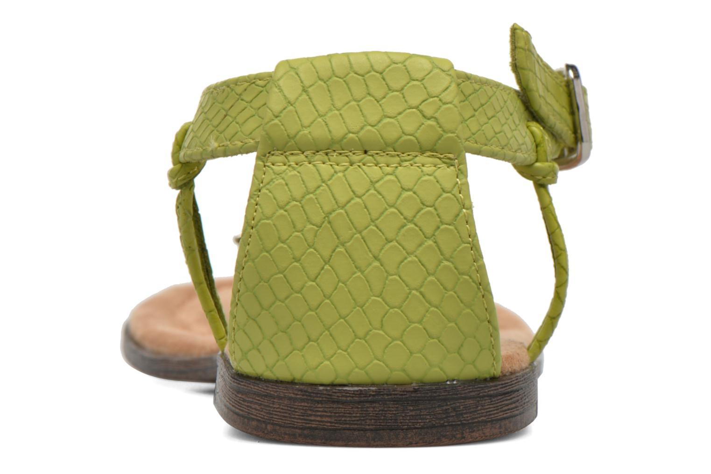 Sandales et nu-pieds Minnetonka Carnival Thong Vert vue droite