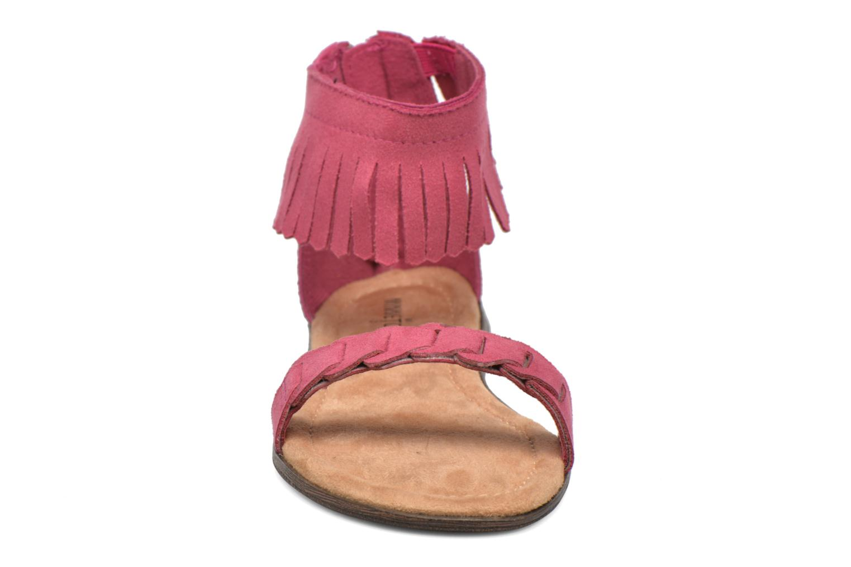 Sandales et nu-pieds Minnetonka Nikita Sandal Rose vue portées chaussures