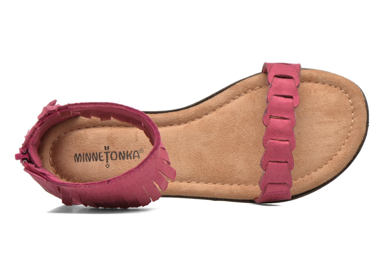 Sandales et nu-pieds Minnetonka Nikita Sandal Rose vue gauche