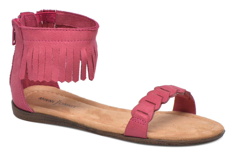 Sandales et nu-pieds Minnetonka Nikita Sandal Rose vue détail/paire