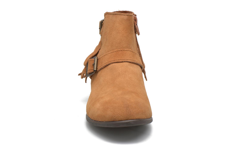 Bottines et boots Minnetonka Rancho Boot Marron vue portées chaussures