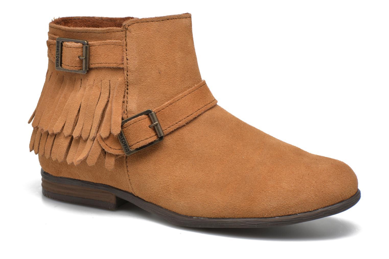 Bottines et boots Minnetonka Rancho Boot Marron vue détail/paire