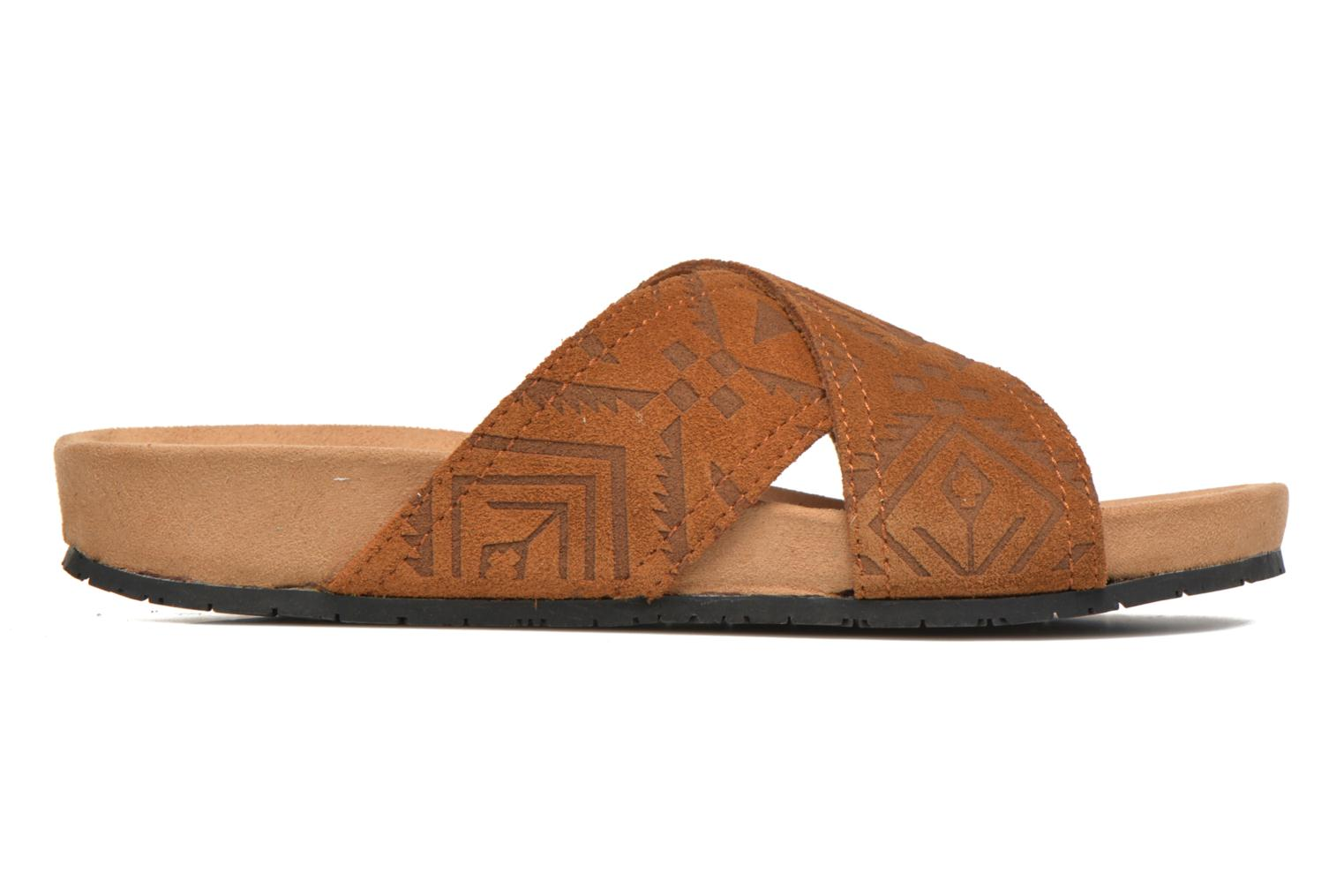 Lyric Sandal Brown Suede