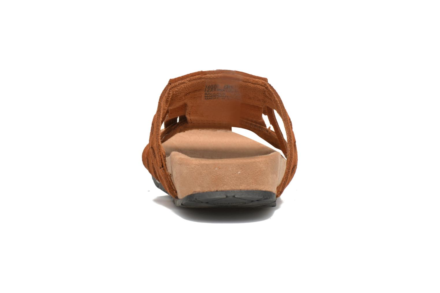 Daisy Sandal Brown Suede