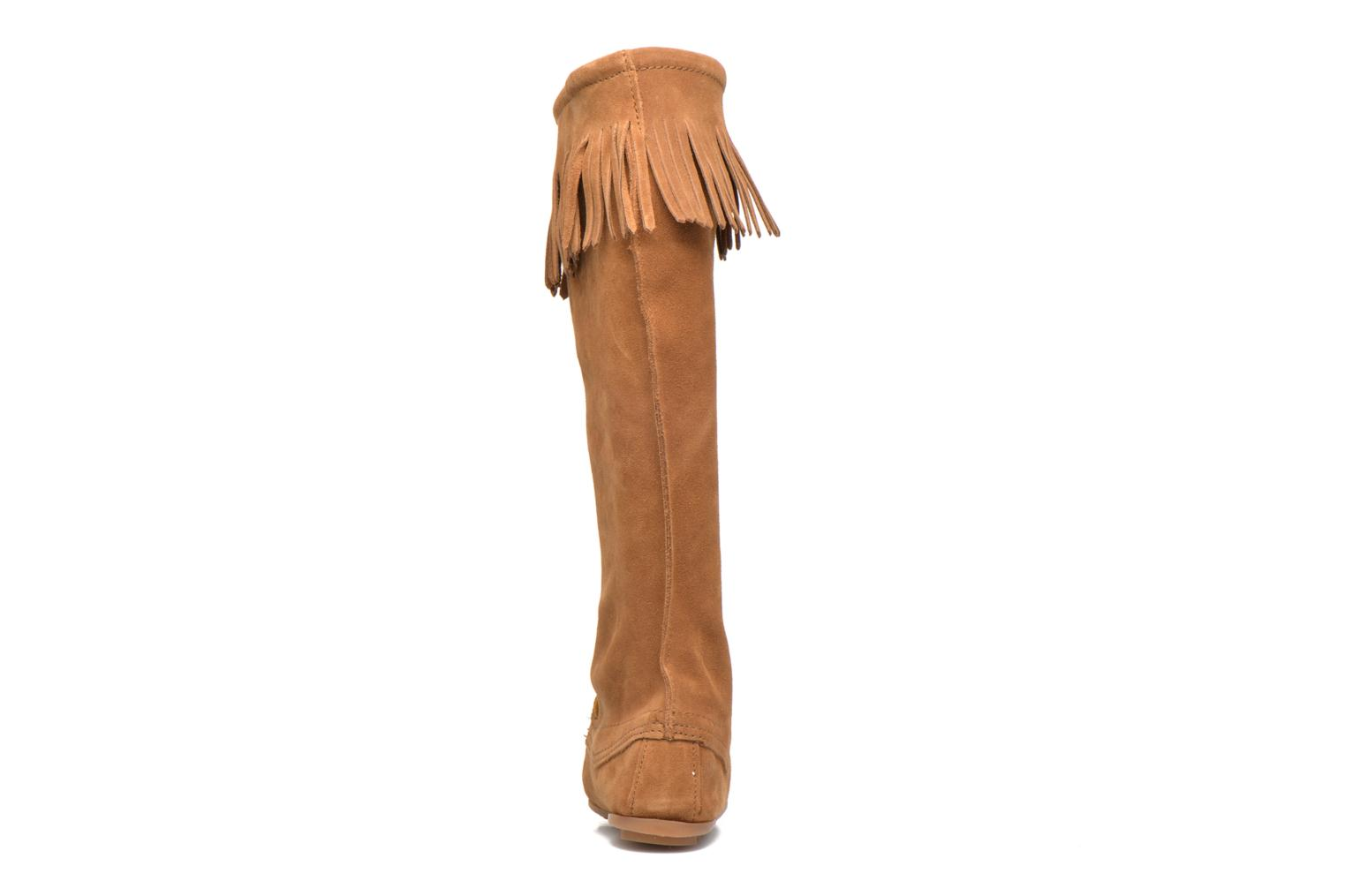 Front Lace Knee-Hi Boot DUSTY