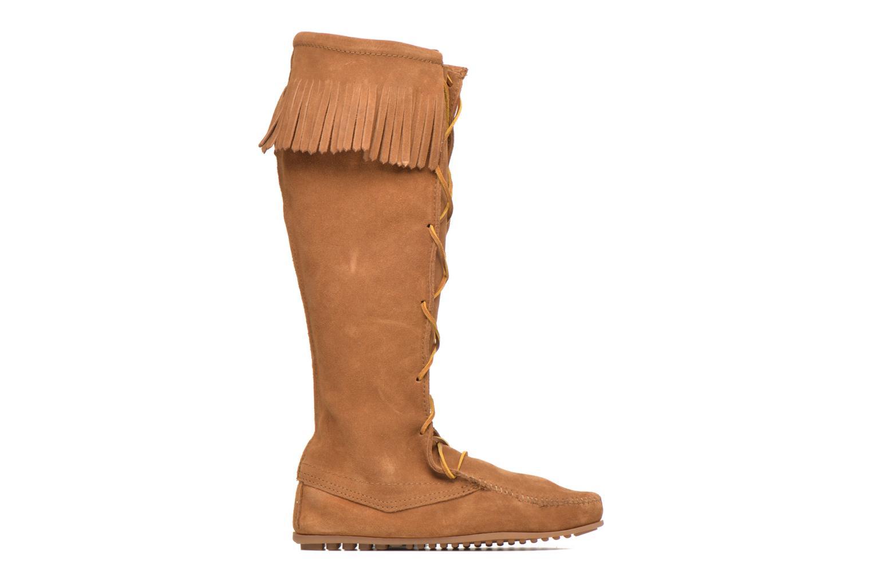 Bottes Minnetonka Front Lace Knee-Hi Boot Marron vue derrière