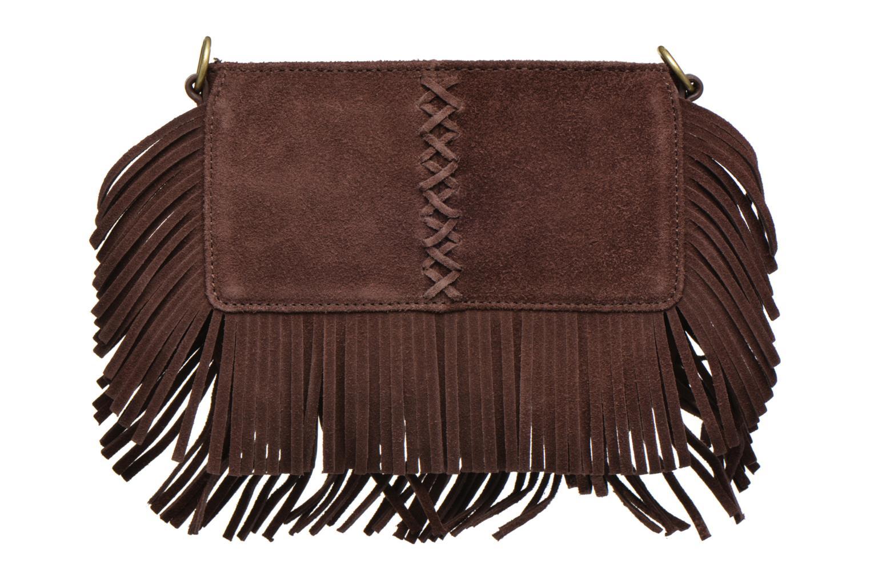 Sacs à main Minnetonka Mini Fringe Crossbody Bag Marron vue détail/paire
