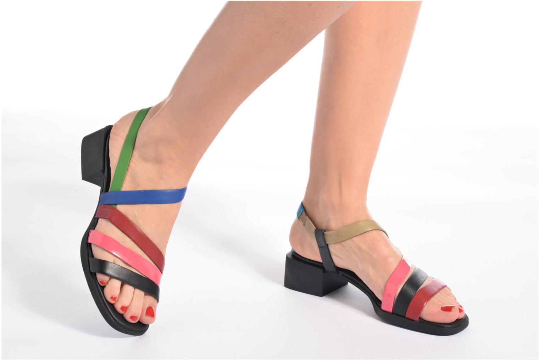 Sandales et nu-pieds Camper TWS K200343 Multicolore vue bas / vue portée sac