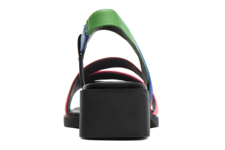 Sandales et nu-pieds Camper TWS K200343 Multicolore vue droite