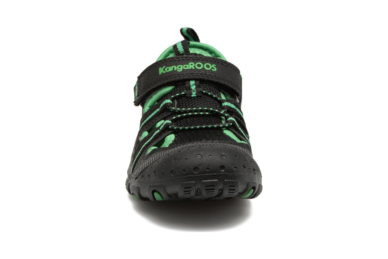 Sportschuhe Kangaroos KangaSpeed X4 schwarz schuhe getragen