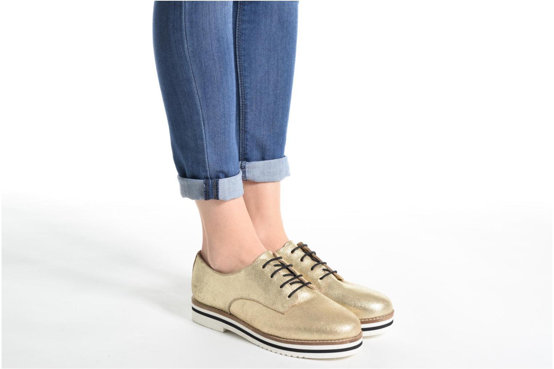 Chaussures à lacets Coolway Avocado Or et bronze vue bas / vue portée sac